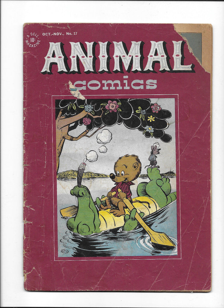 ANIMAL COMICS #17  [1945 GD]  POGO & ALBERT COVER!