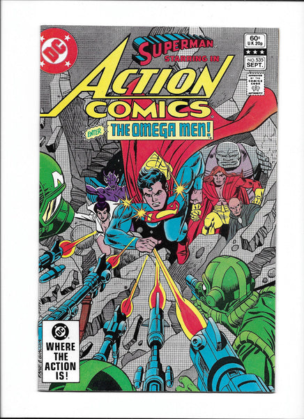 ACTION COMICS #535  [1982 FN-VF]