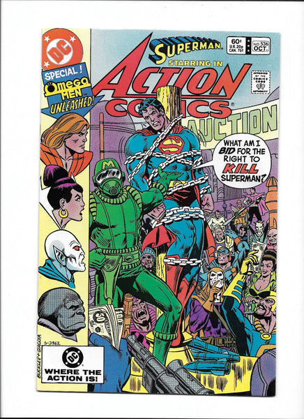 ACTION COMICS #536  [1982 FN-VF]