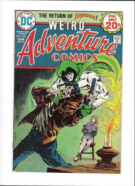 ADVENTURE COMICS #435  [1974 VG+]  SPECTRE COVER!