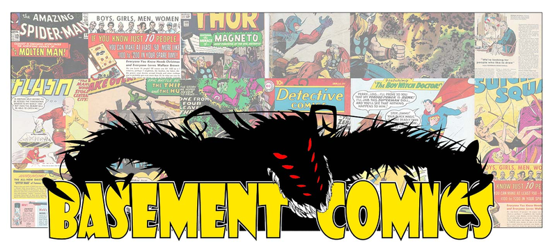 Basement Comics logo