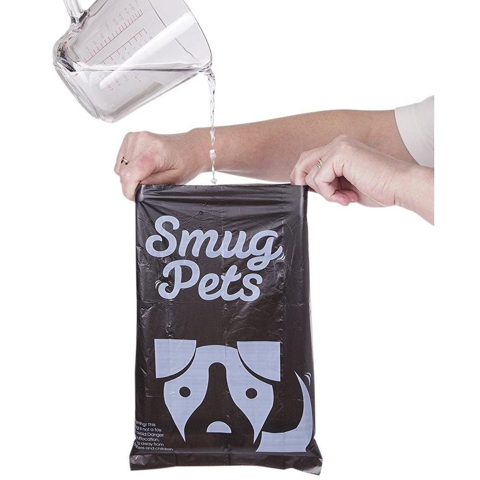 SmugPets 75 Premium Dog Waste Bags Plus Treat Bag & Dispenser - SmugPets