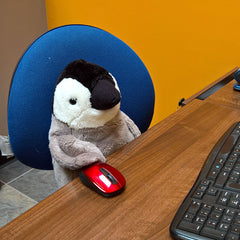 Pics Penguin Customer Service Rep for Penguin Patrol