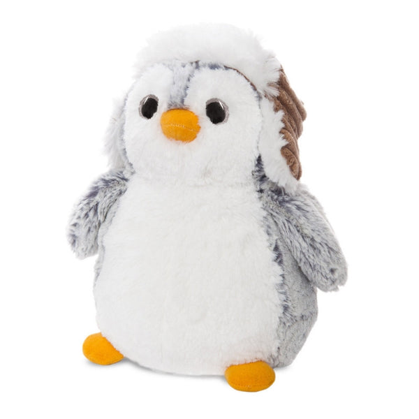 "Pom Pom Penguin with Hat 11"" (28cm) Soft Toy Penguin by Aurora"