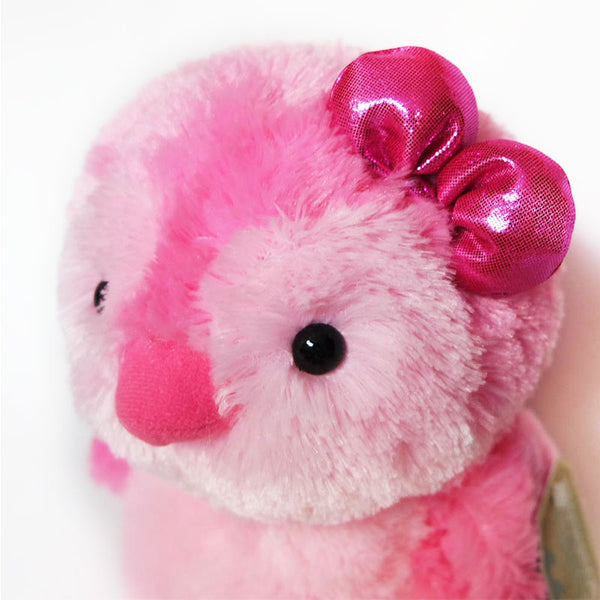 "Destination Nation Pink Penguin with Bow 12"" (30cm) by Aurora"