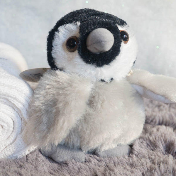 Fluffy Emperor Chick 5in (13cm) Mini Penguin Soft Toy by Nature Planet