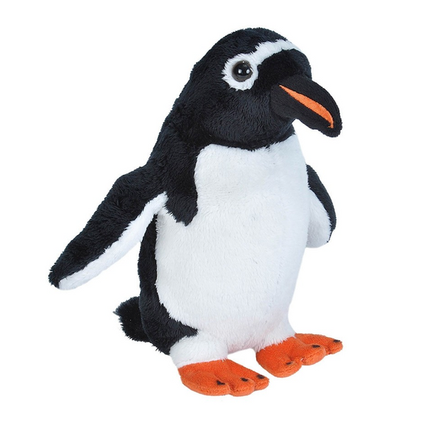Sea Critters 20cm Gentoo Penguin Soft Toy by Wild Republic