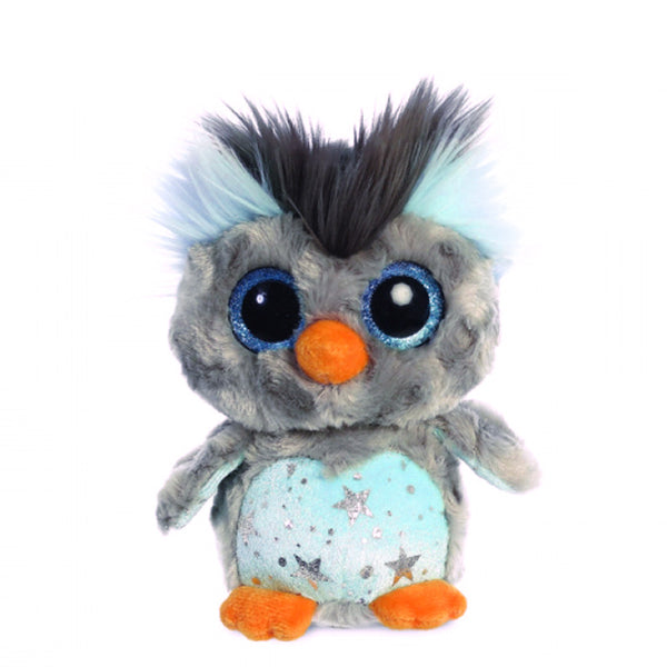 Hoppee Rockhopper Blue Penguin Soft Toy Mini 5