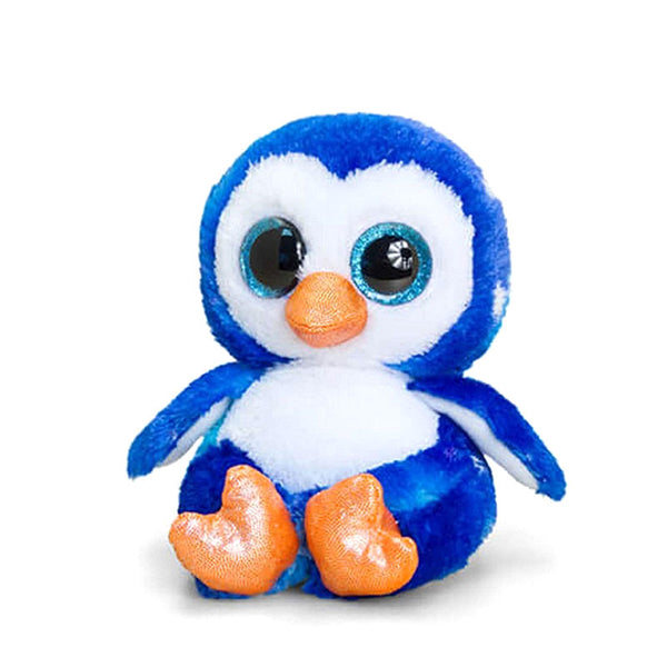 Starbright The Blue Animotsu Penguin 15cm Small Penguin Soft Toy by Keel Toys