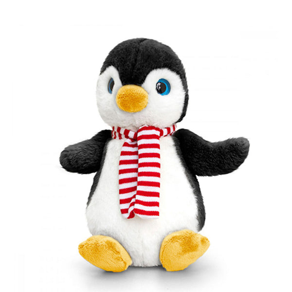 Penguin with Scarf 35cm / 14in Medium Penguin Soft Toy by Keel Toys