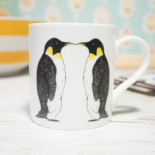 Penguin Love Mug by Martha & Hepsie