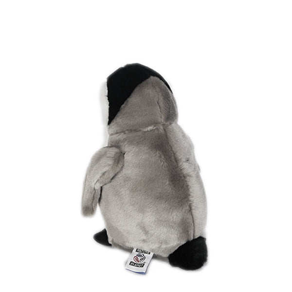 Emperor Penguin Chick 9in (22cm) Plan L Large Penguin Soft Toy by Nature Planet