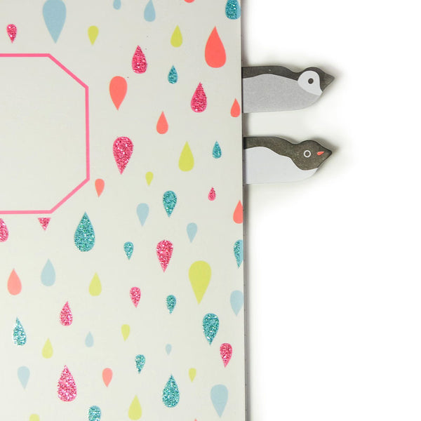 Penguin Pals Peep Out Index Marker Sticky Tabs