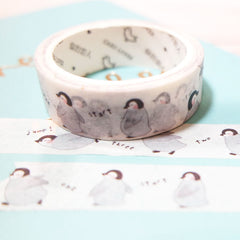 Cute 'Penguin Jump' Penguin Washi Tape