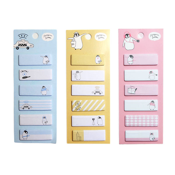 Penguin Lesson 'Weekend Penguin' Index Marker Sticky Tabs