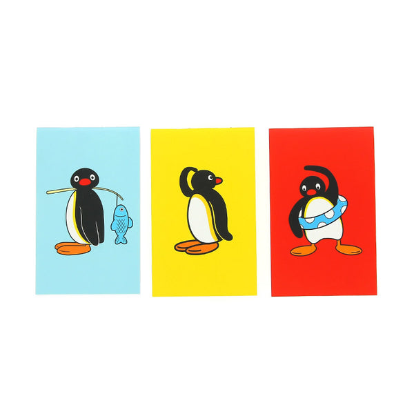 Pingu Set of 3 Mini Notebooks