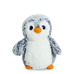 "Grey Mini  6"" (15cm) Pom Pom Penguin Soft Toy by Aurora"
