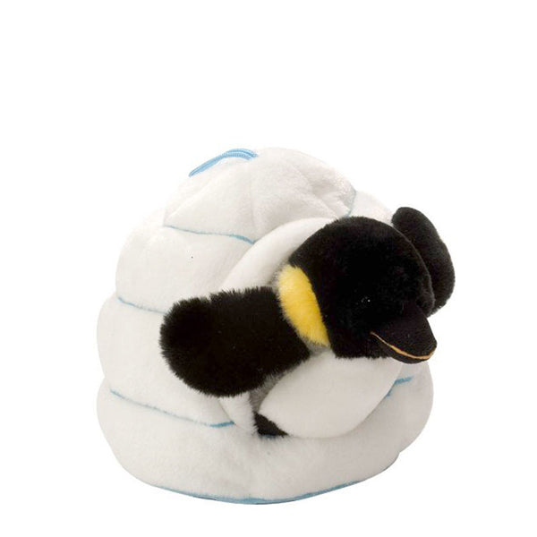 Penguin With Polar Igloo Soft Toy by Wild Republic