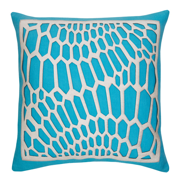 Emerson Pillow - Turquoise