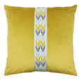 Addison Pillow - Oyster/Brass PT-101
