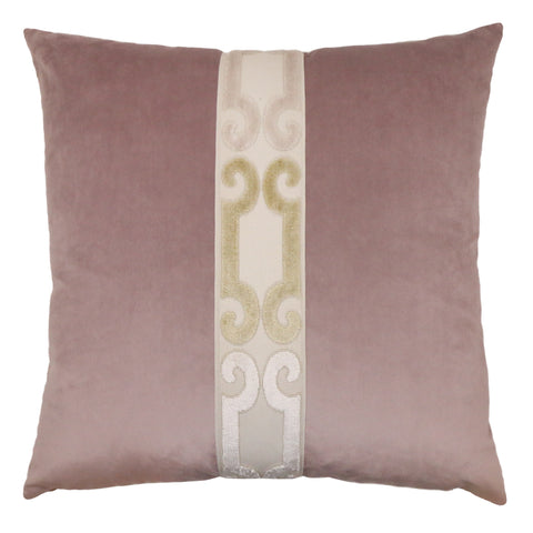 Addison Pillow - Orchid/Brass PT-105A