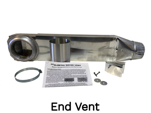 The Quick Connect Periscope Kit End Vent Almetal Dryer
