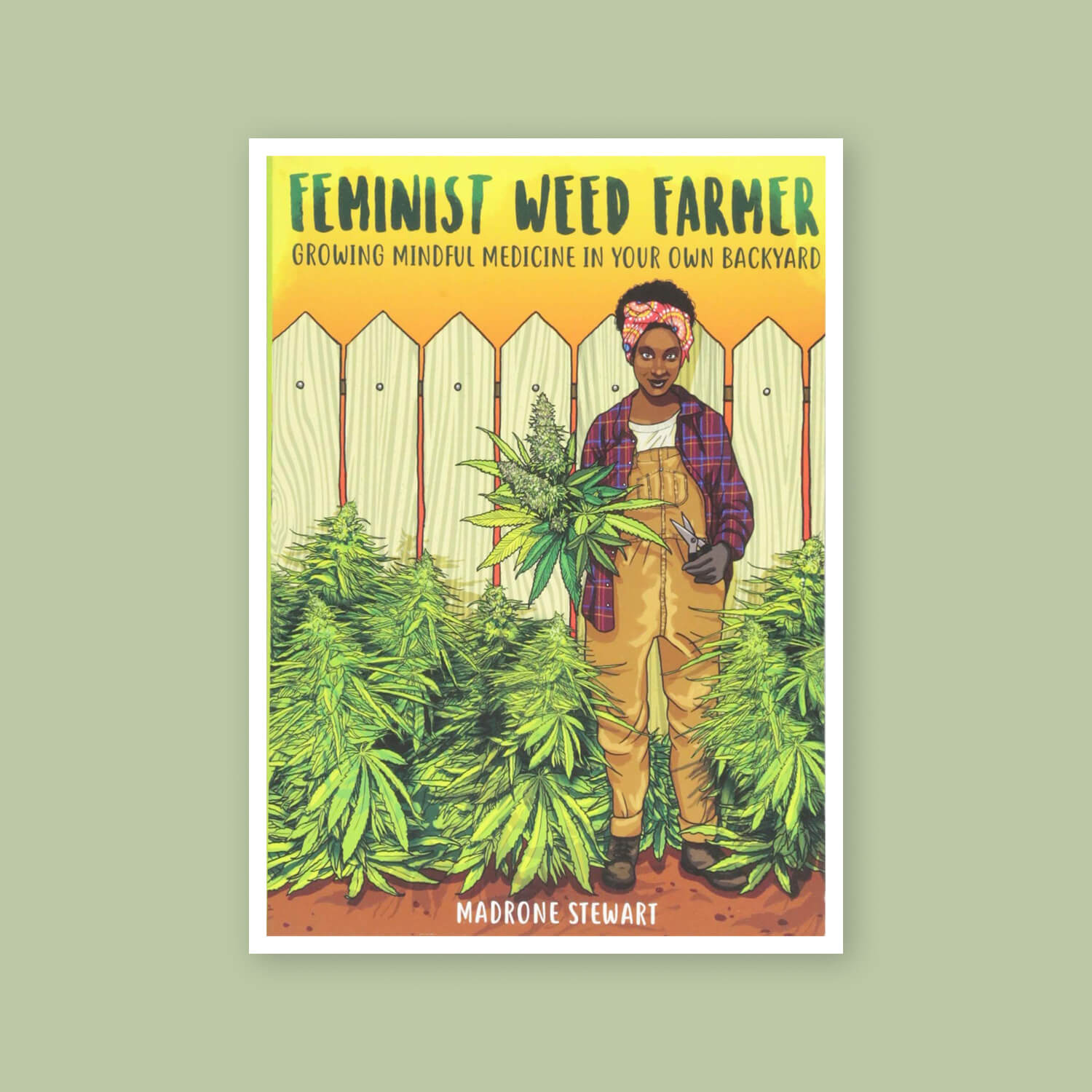 Feminist Weed Farmer - Goldleaf Bookshelf