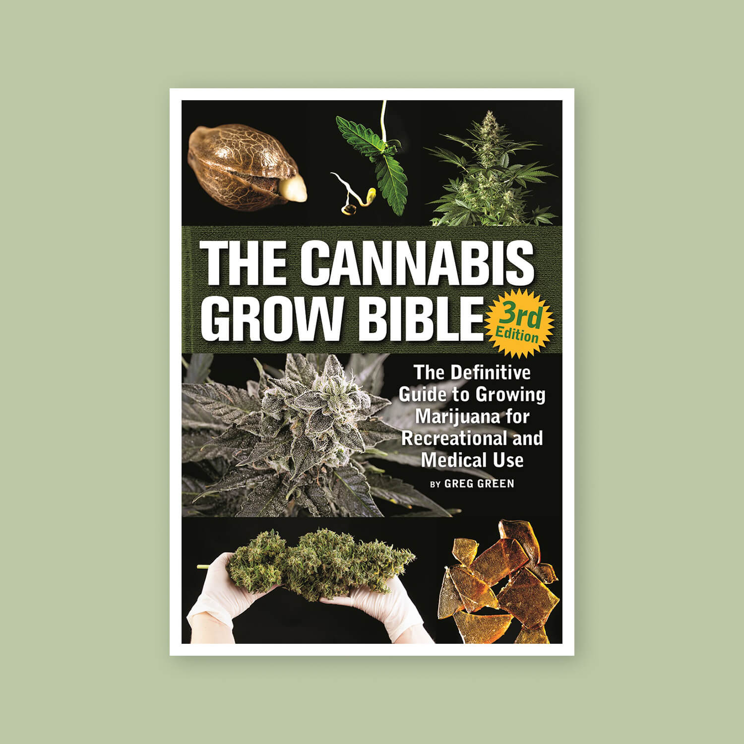 Cannabis Grow Bible - Goldleaf Bookshelf