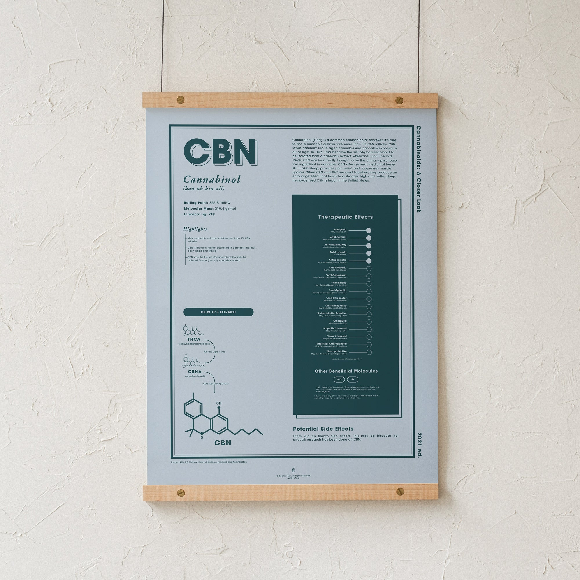 CBN: A Closer Look Print by Goldleaf