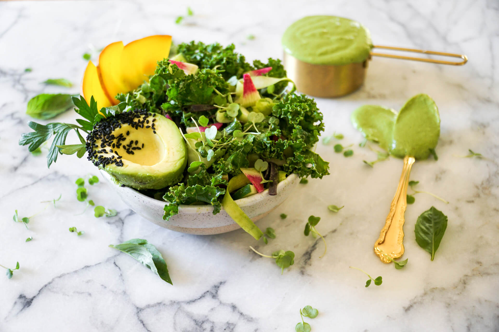 Elevated Green Goddess Dressing