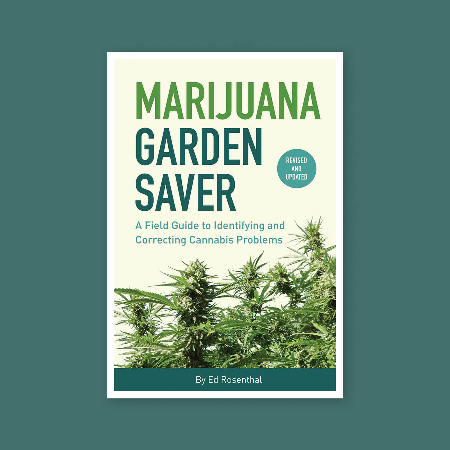 Marijuana garden saver - Goldleaf bookshelf