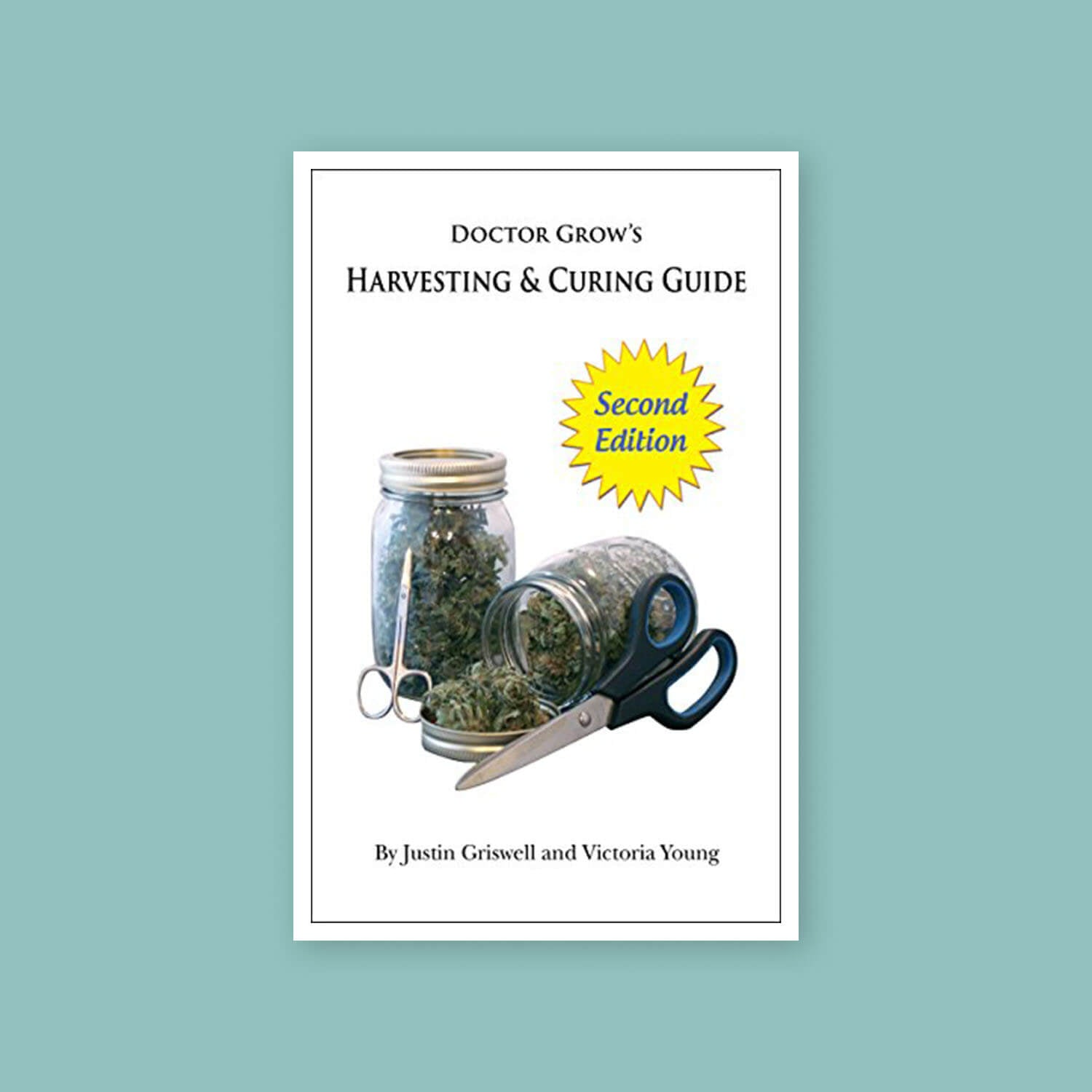 Doctor's harvesting and curing guide to cannabis - Goldleaf bookshelf