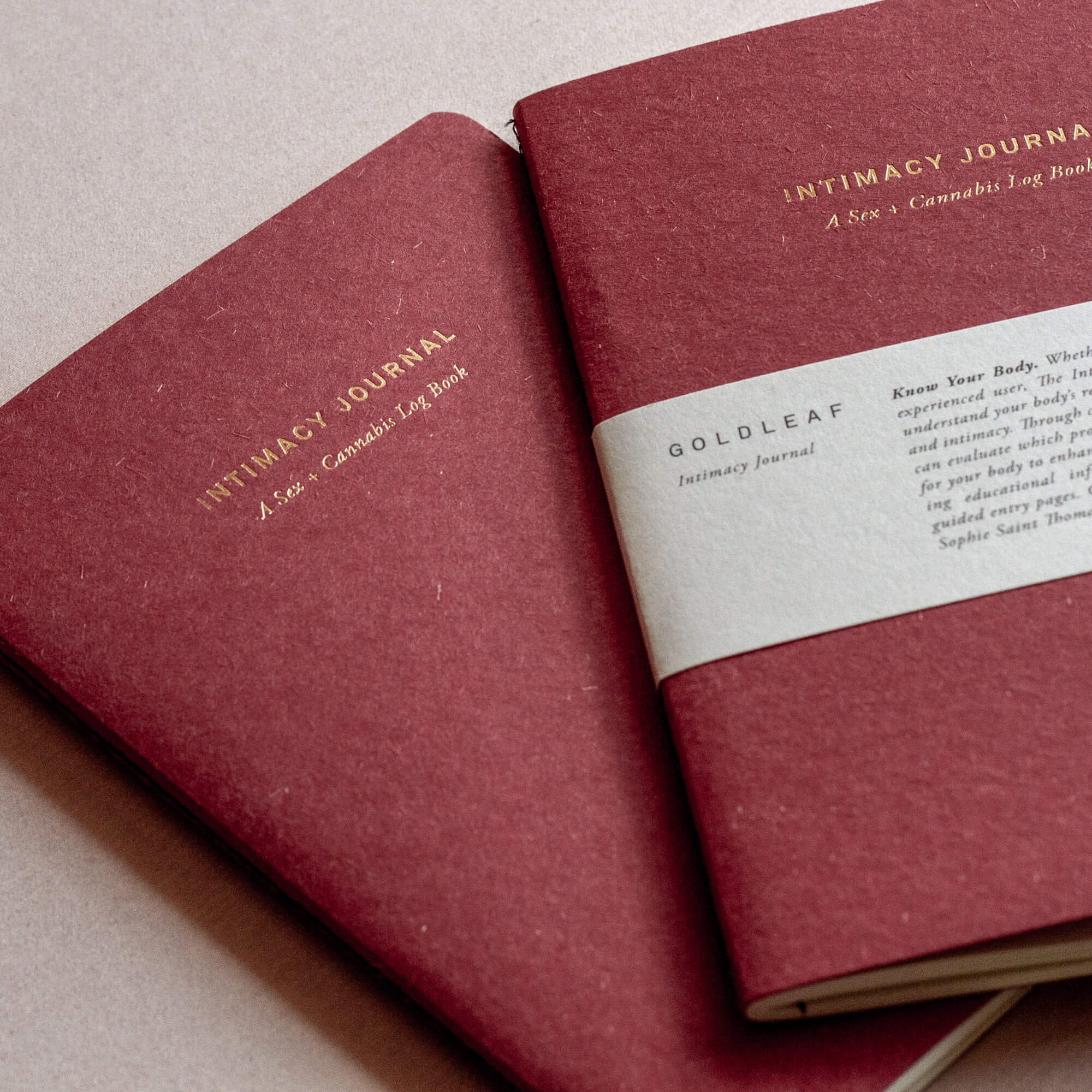 The Intimacy Journal by Goldleaf, Foria and Sophie Saint Thomas