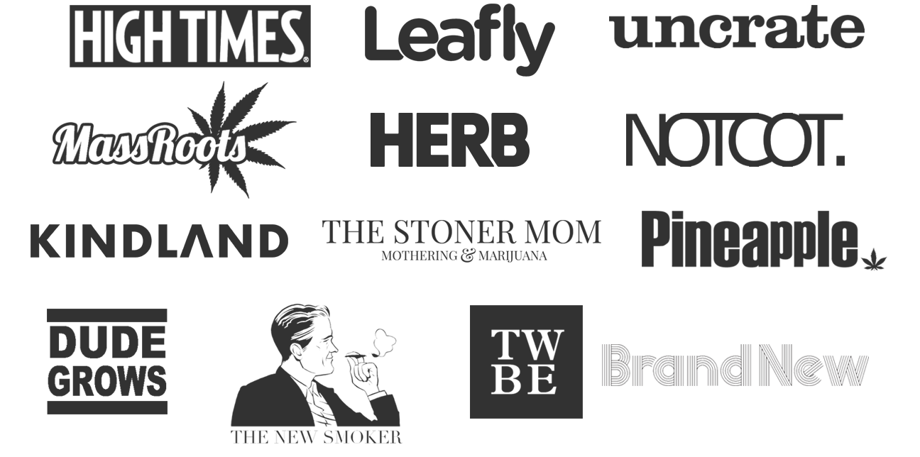 Check out Goldleaf in High Times, Leafly, Massroots, Uncrate, Notcot, Kindland, herb and more!