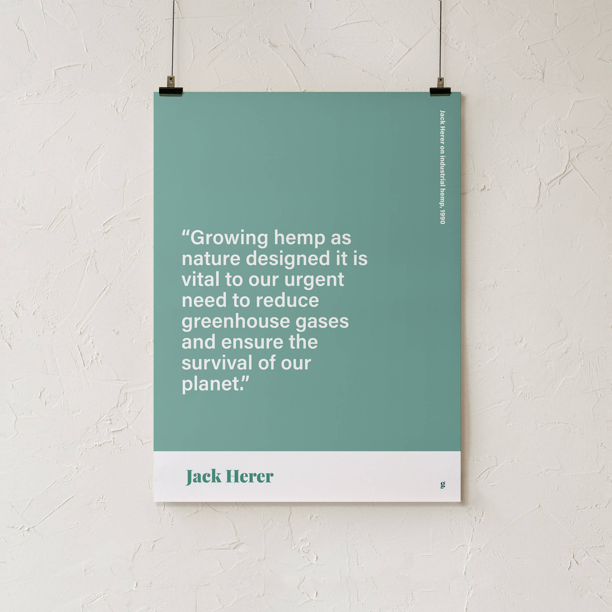 Jack Herer Quote print