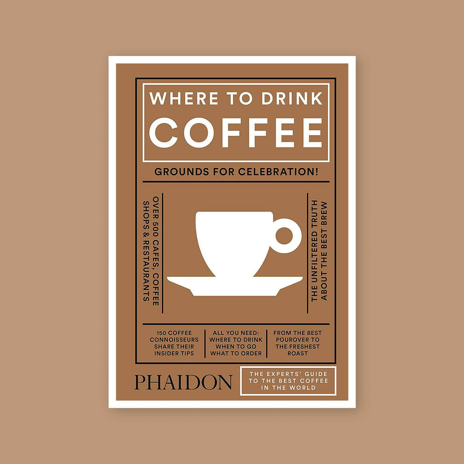 Where to Drink Coffee - Goldleaf Book List