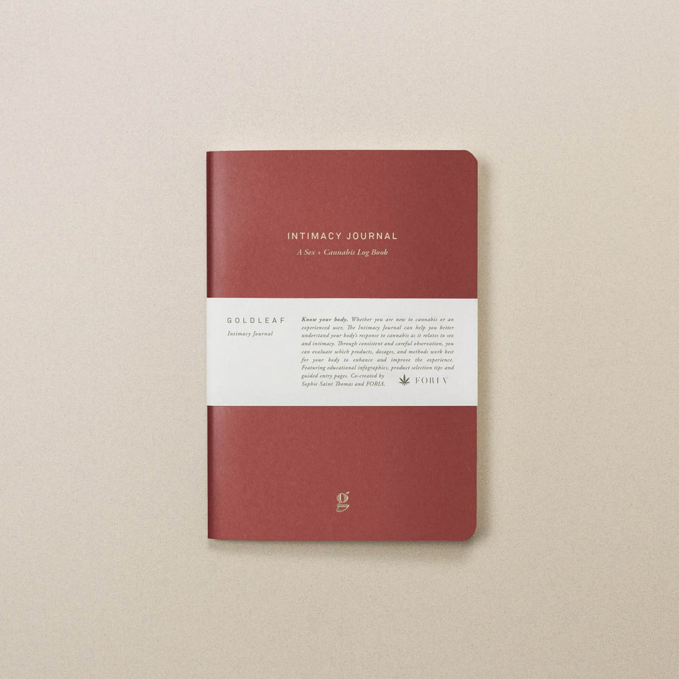 Intimacy Journal by Goldleaf