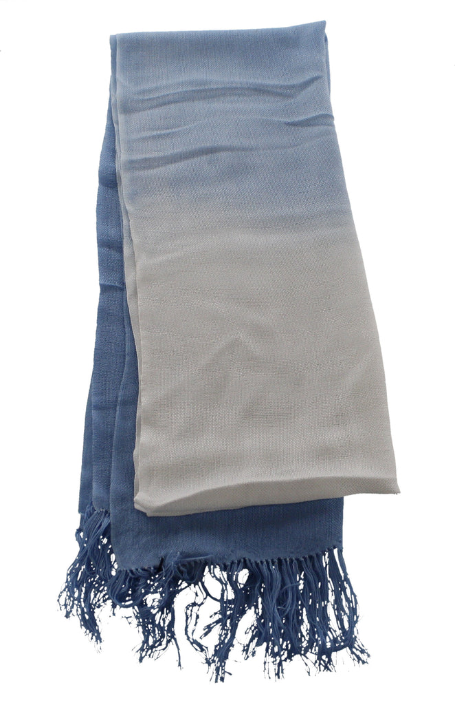 Bamboo Scarf Dip-Dyed Contemporary - The Tsandza Collection