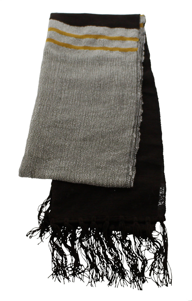 Merino Bamboo Scarf  Sahara Contemporary - The Tsandza Collection