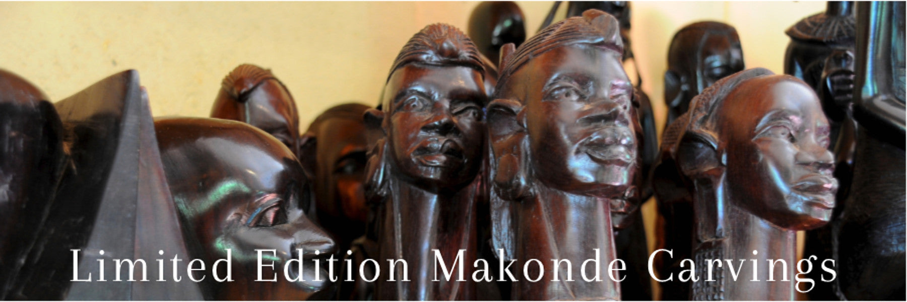 Limited Edition Makonde Carvings
