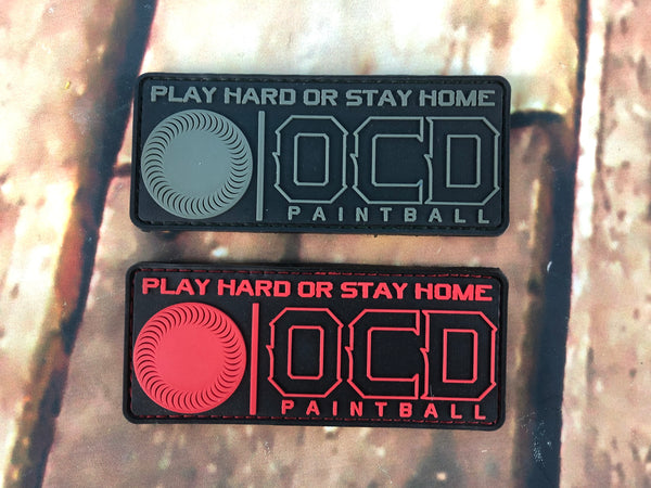 OCD Play Hard Patch
