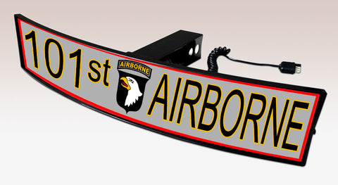 101st Airborne Trailer Hitch Cover