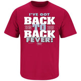 Alabama Crimson Tide Fans Back To Back Fever T-Shirt