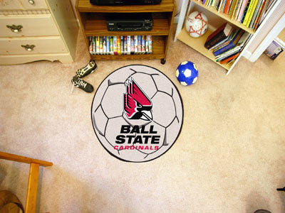 Ball State University Soccer Ball Carpet