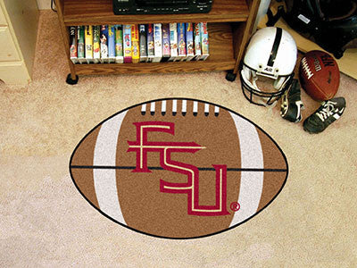 Florida State University FS Logo Football Carpet