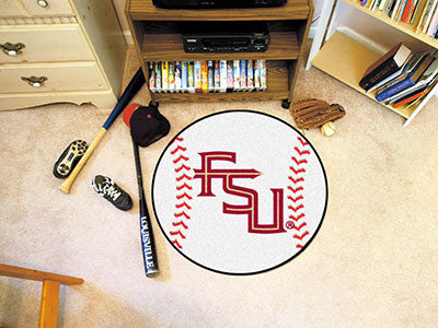 Florida State University FS Logo Baseball Carpet