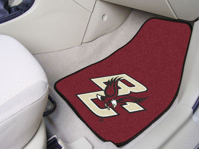 Boston College Car Mats 2 Piece Front