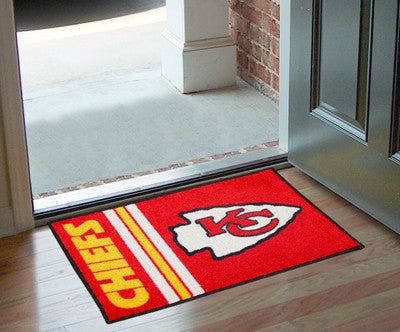 NFL - Kansas City Chiefs - Uniform Inspired Starter Door Mat