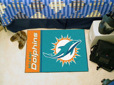 bargains from nfl team flooring cave man dolphins tiles miami rug carpet miamidolphins