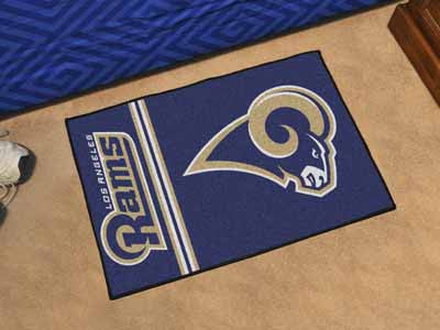 NFL - Los Angeles Rams - Uniform Inspired Starter Area Rug